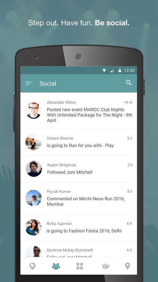 Nearify app - UpLabs