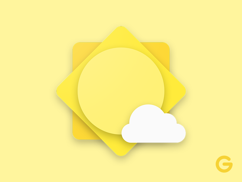 Weather icon uplabs for All weather material