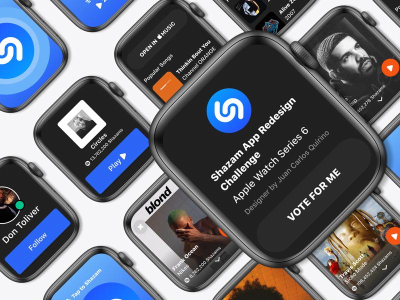 Shazam web application