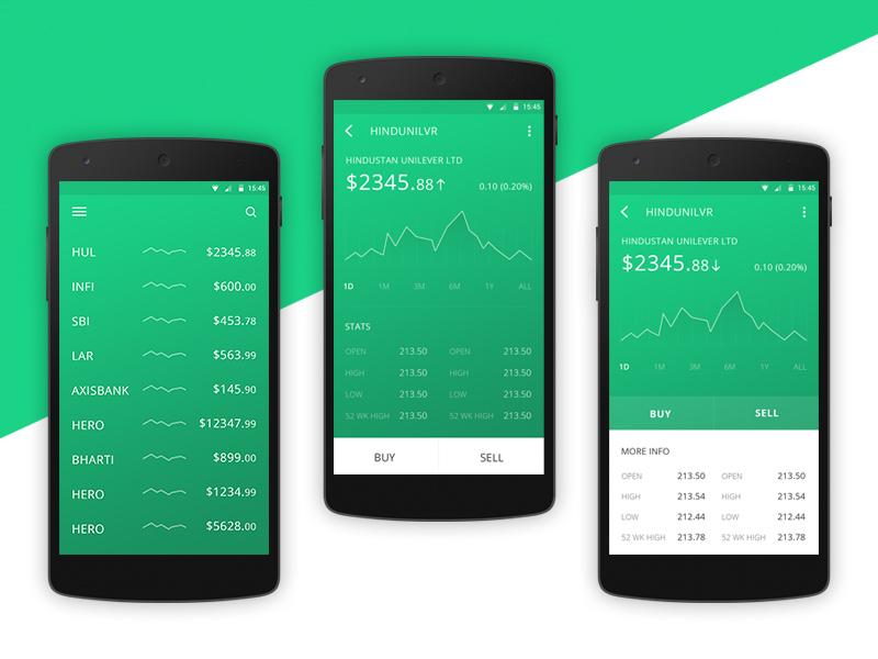 Upstox Basic Android App Uplabs