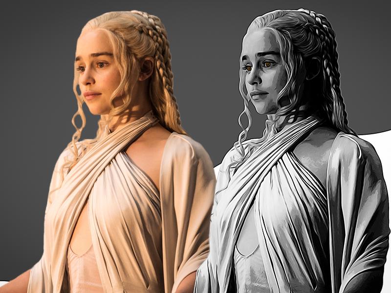 Game of Thrones (GOT) example #11: Game Of Thrones Emilia Clarke