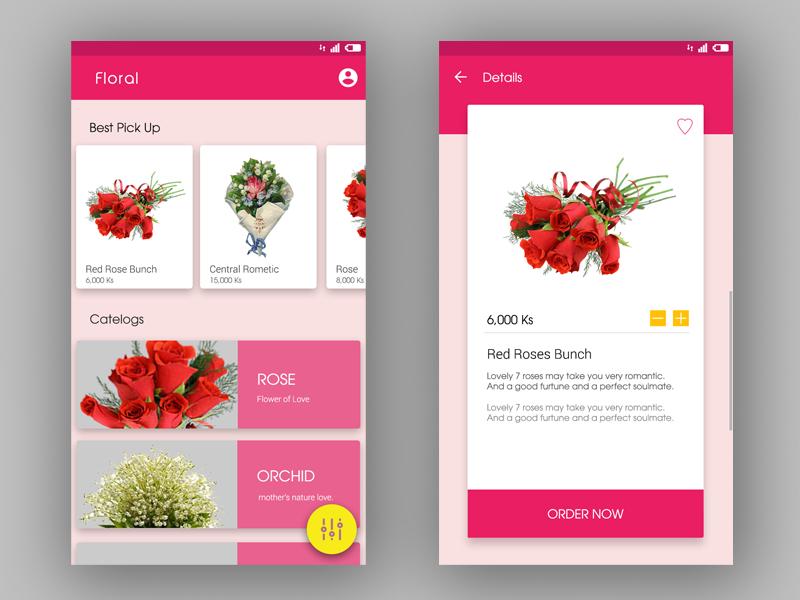 Flower Delivery Service App