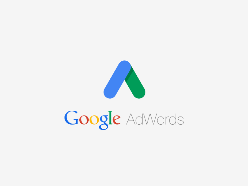 google adwords logo concept - materialup