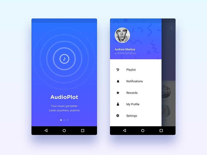 The Car Store >> WIP - Car Music Player App - Uplabs