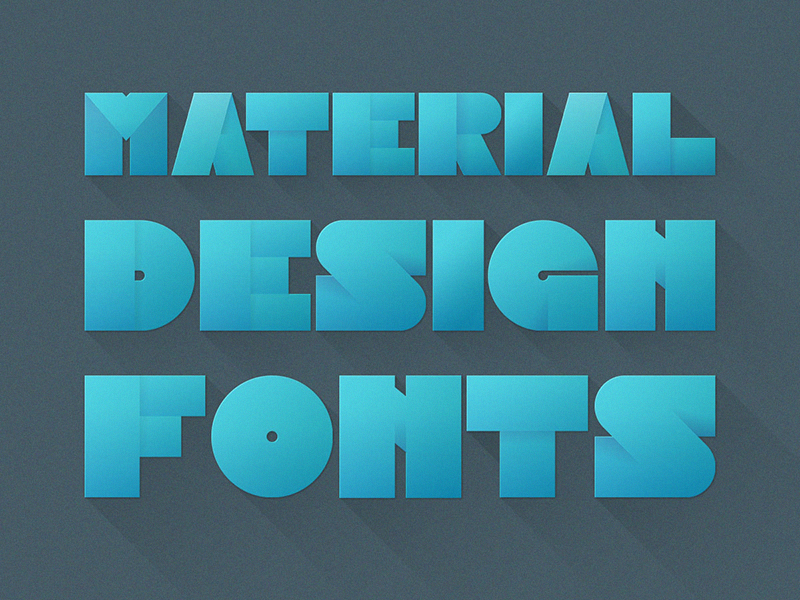 Material Design Image Font - Uplabs