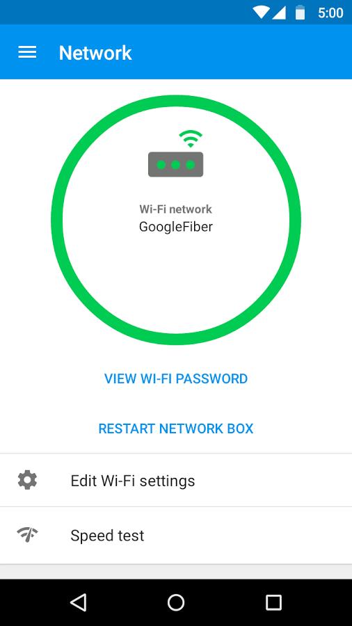 Google Fiber Android App Uplabs