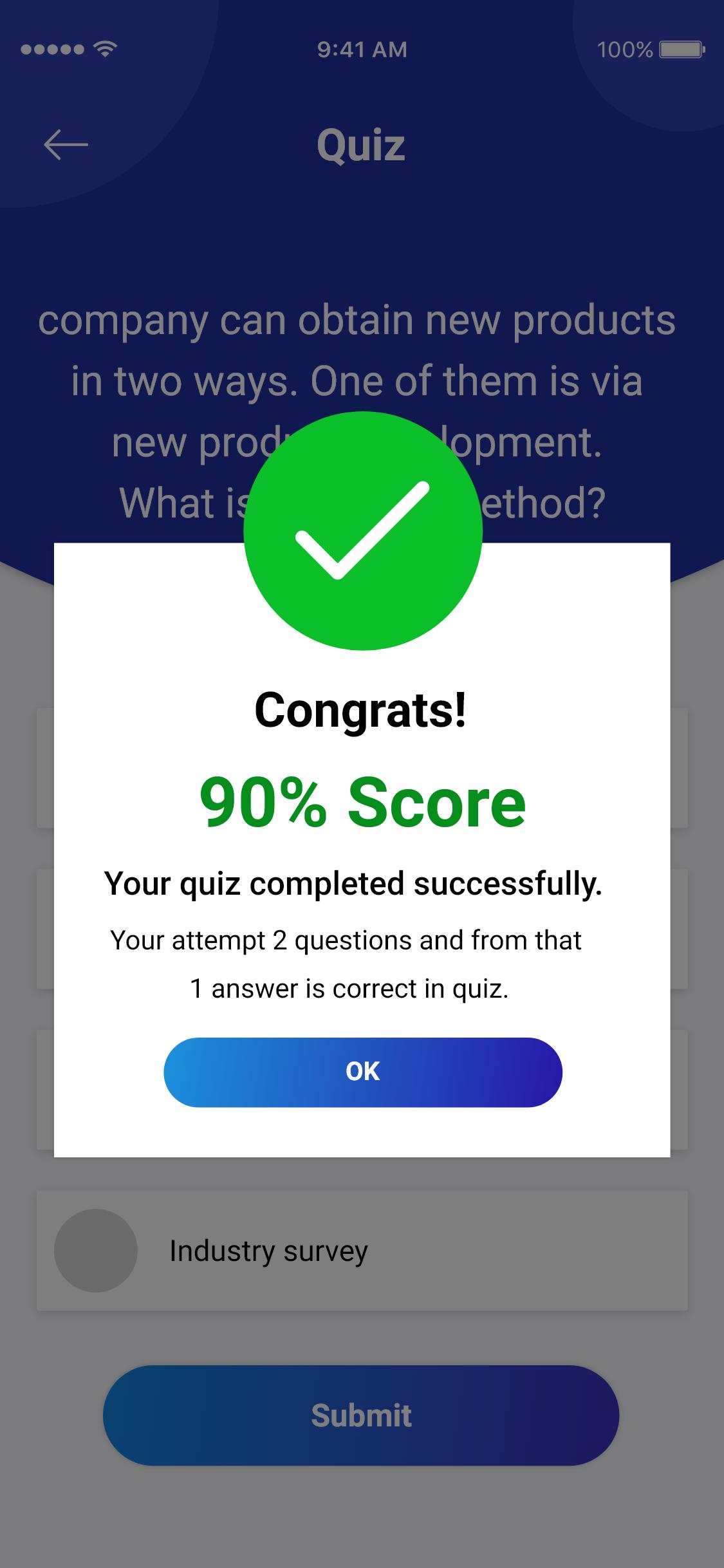 Quiz Application