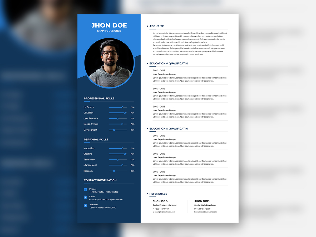 Creative Resume Template from assets.materialup.com