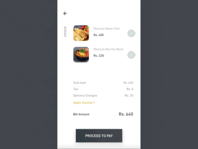 Delivery UI Challenge - UpLabs