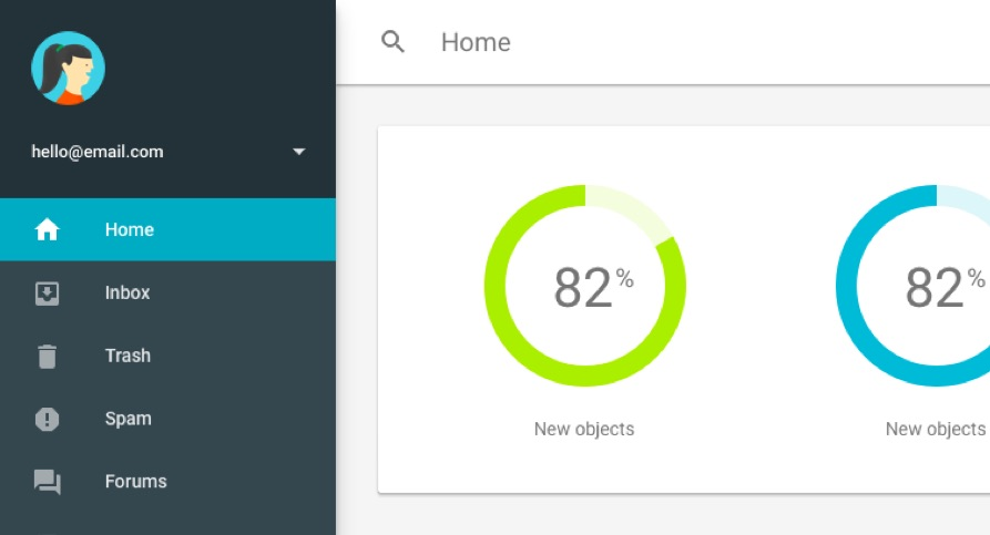 Material design templates using Materialize CSS - UpLabs