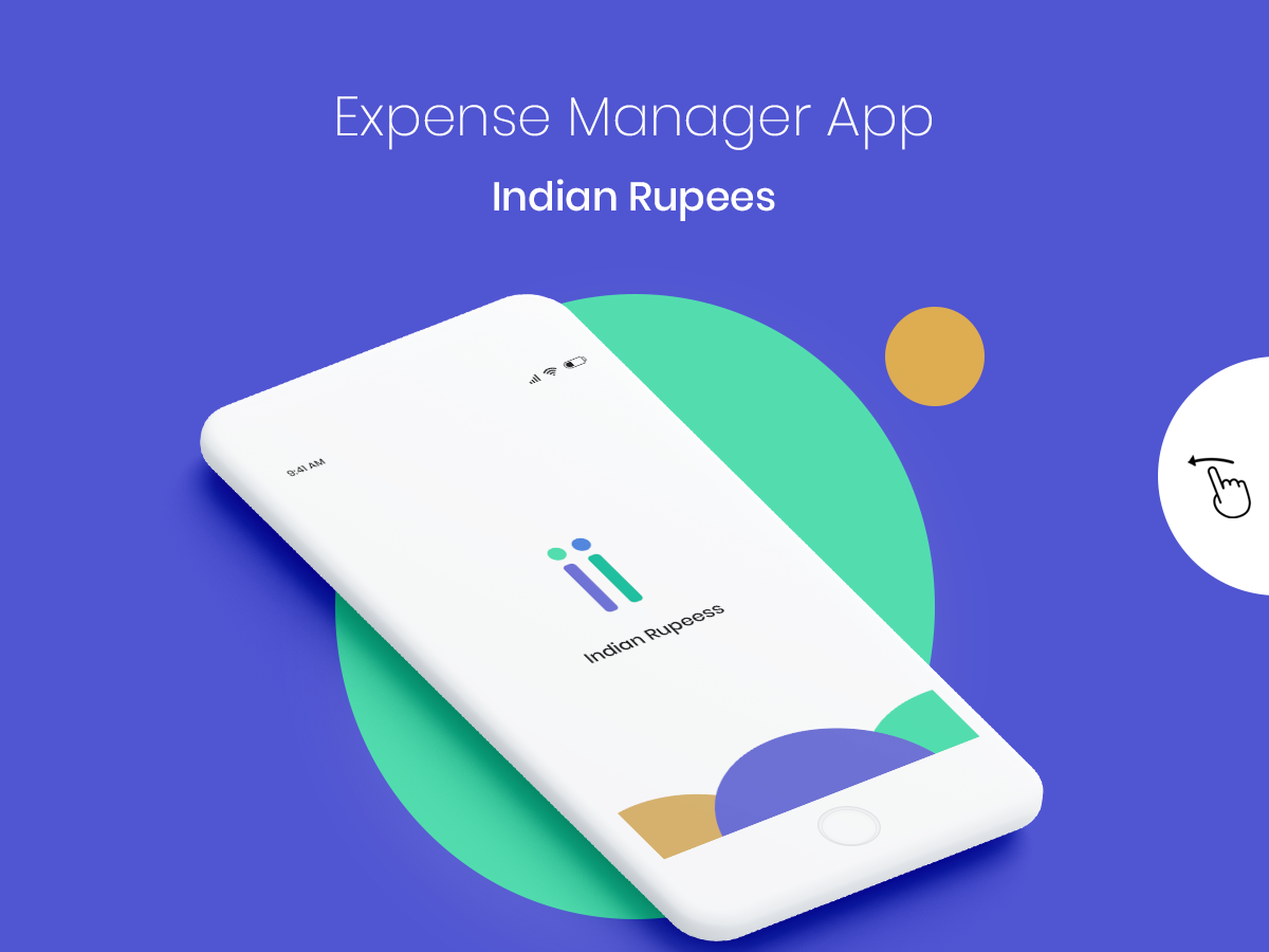 Expense Manager Application - Indian Rupee - UpLabs
