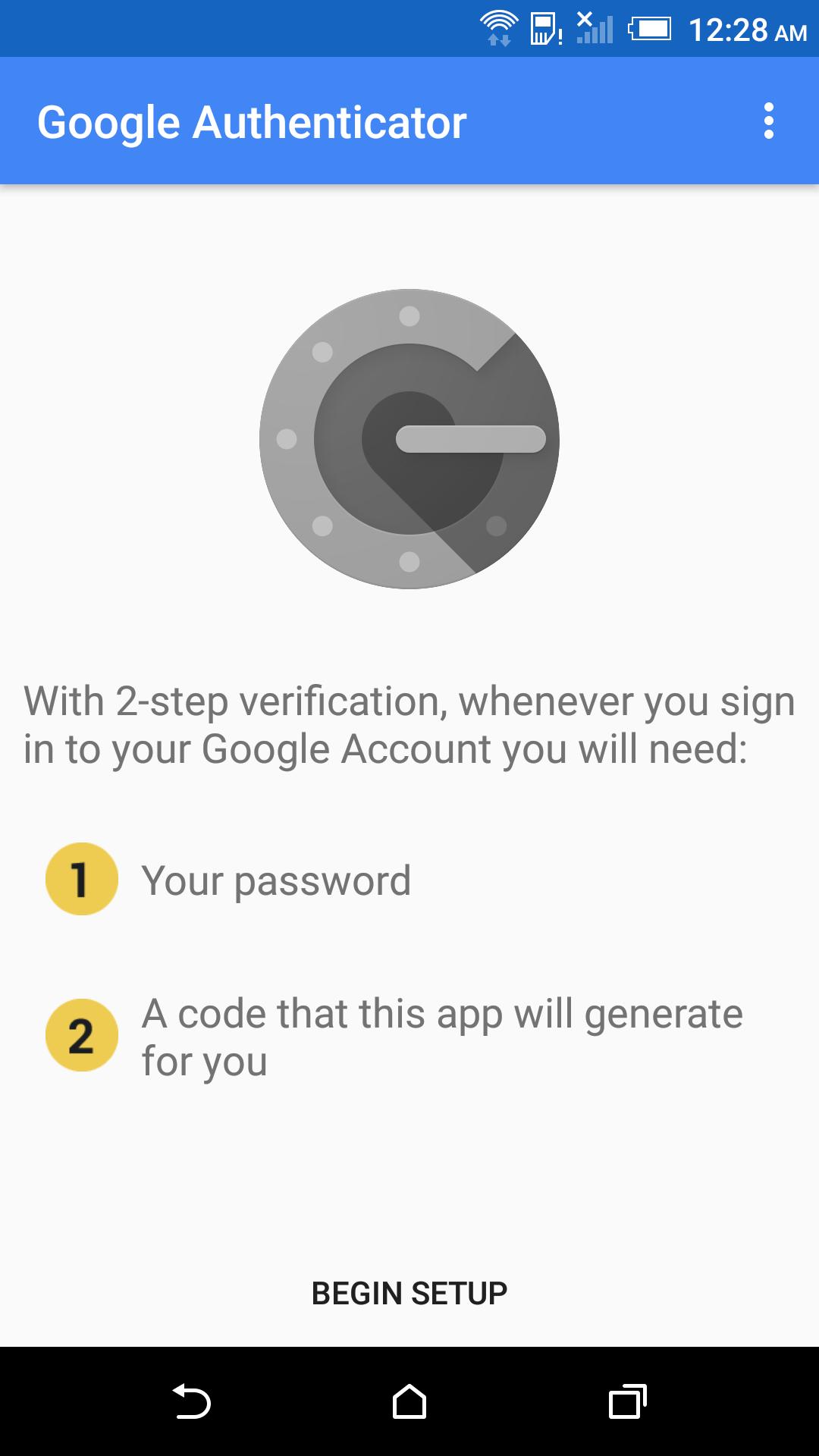 Google authenticator принцип работы - 82874