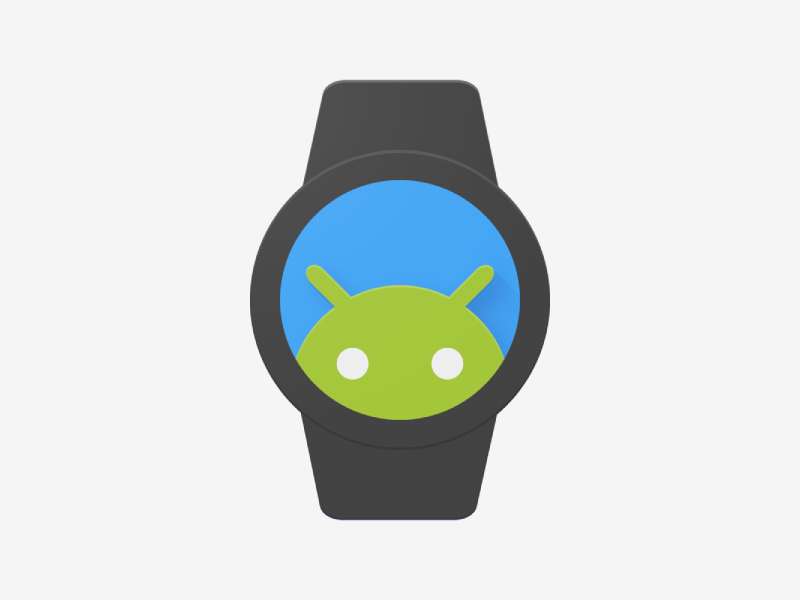 Android Wear Icon - Uplabs