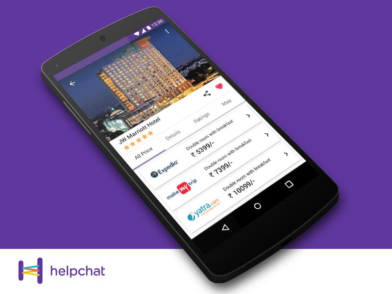 Helpchat hotel deals screen uplabs for Designhotel 54