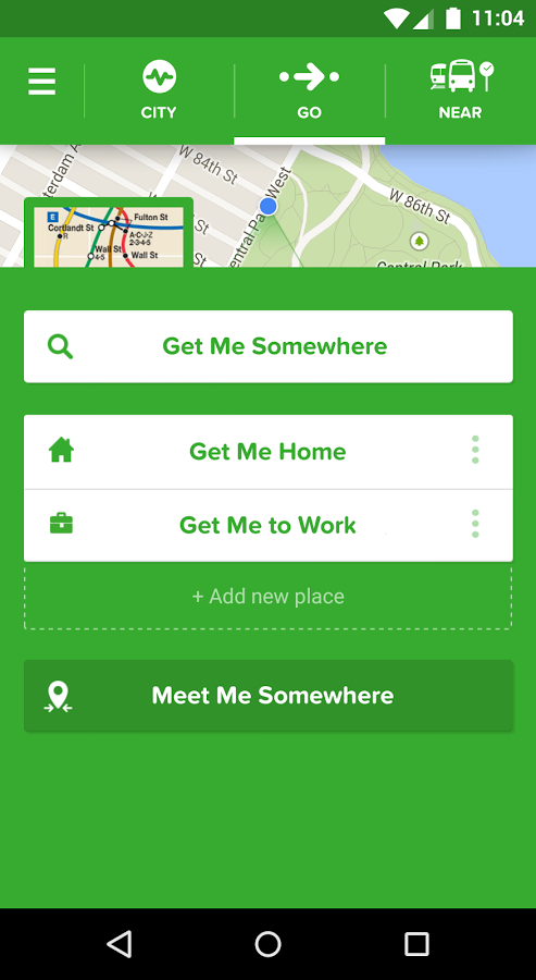 Citymapper 5 0 Real Time Transit Uplabs