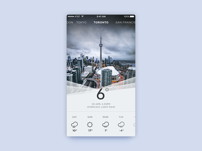 Weather app uplabs for Application iphone temperature interieur