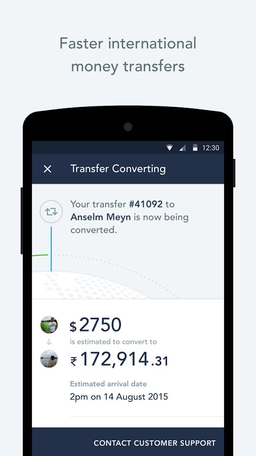 TransferWise Money Transfer Android App - UpLabs