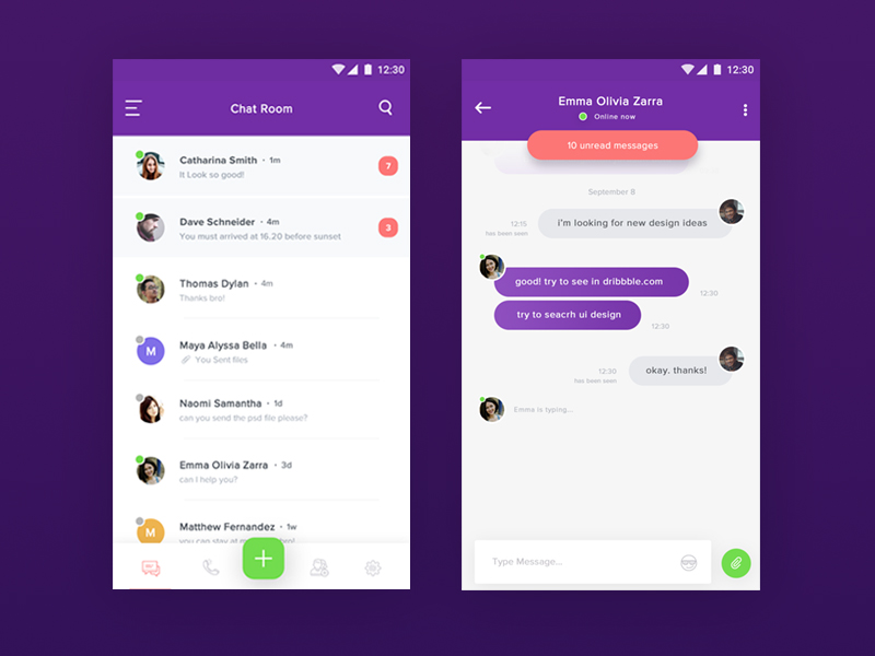 Chat Room App - UpLabs