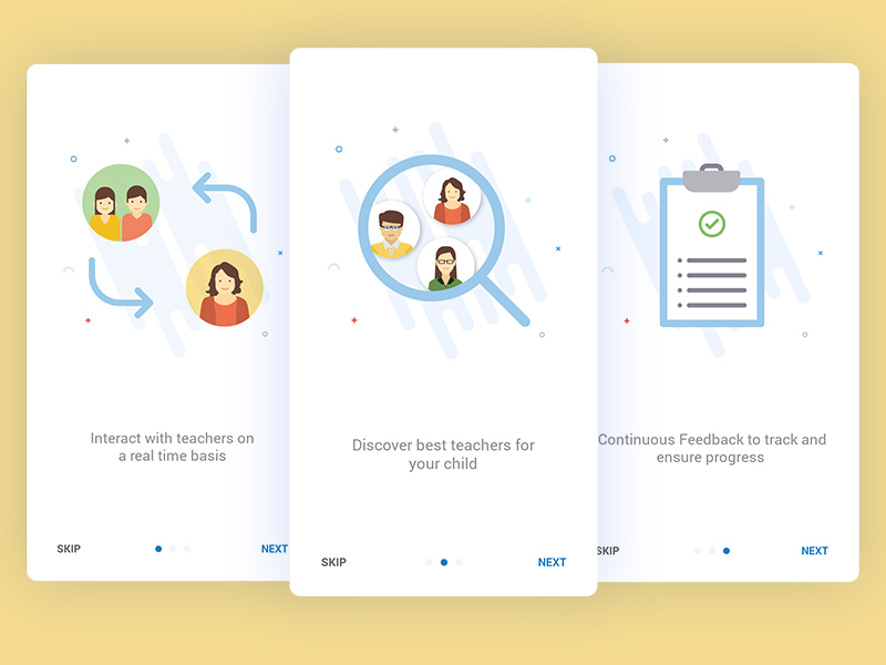 Onboarding Screens For Education App User 2 Uplabs