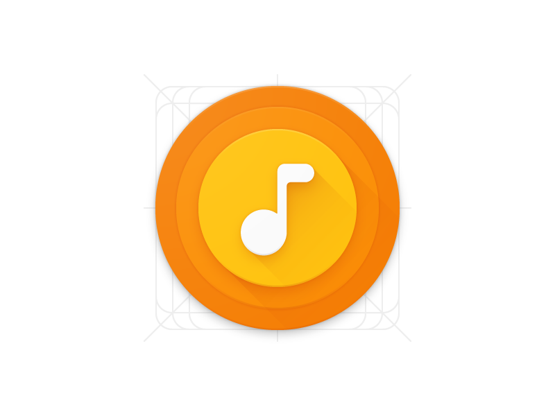 Music Icon Materialup