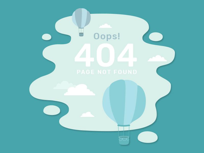 404 error page deisgn example #59: 404 Page Error