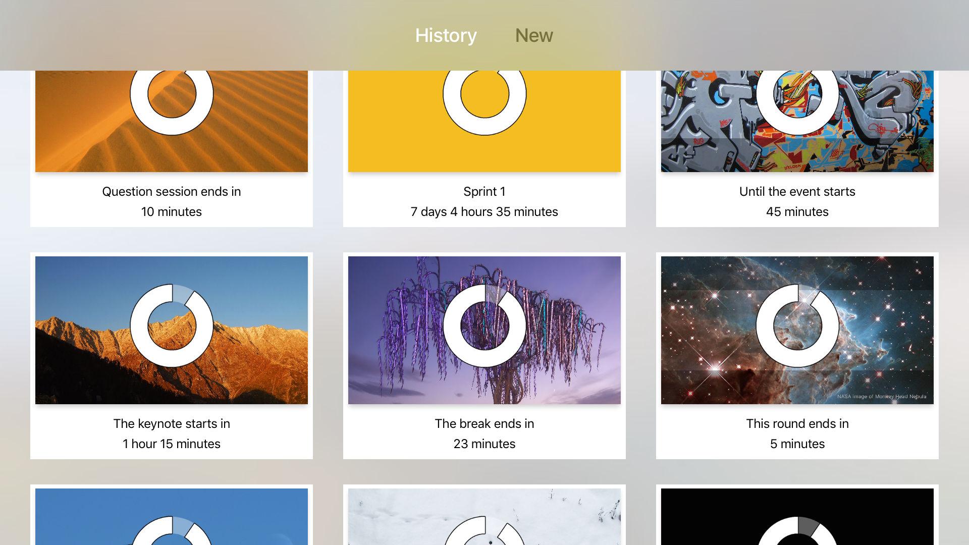 Countdown Meeting Timer Apple Tv App Uplabs