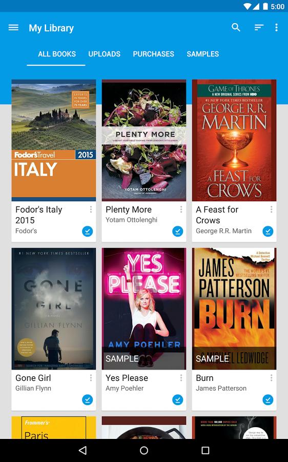 Google Play Books - UpLabs