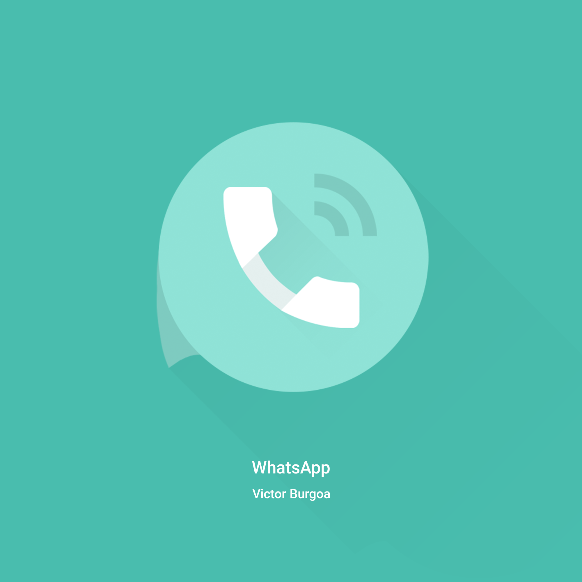 WhatsApp redesign - Uplabs