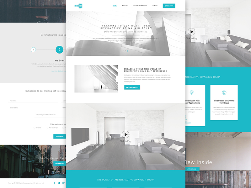 Interior agency homepage design uplabs for Interior design employment agency