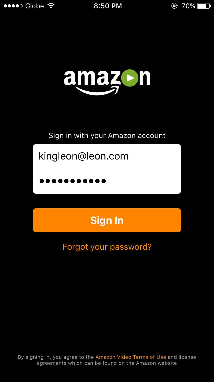 Amazon Prime Photos Login