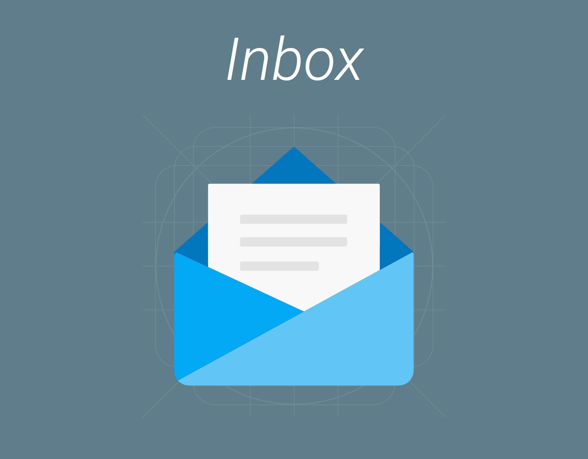 Inbox Icon Uplabs