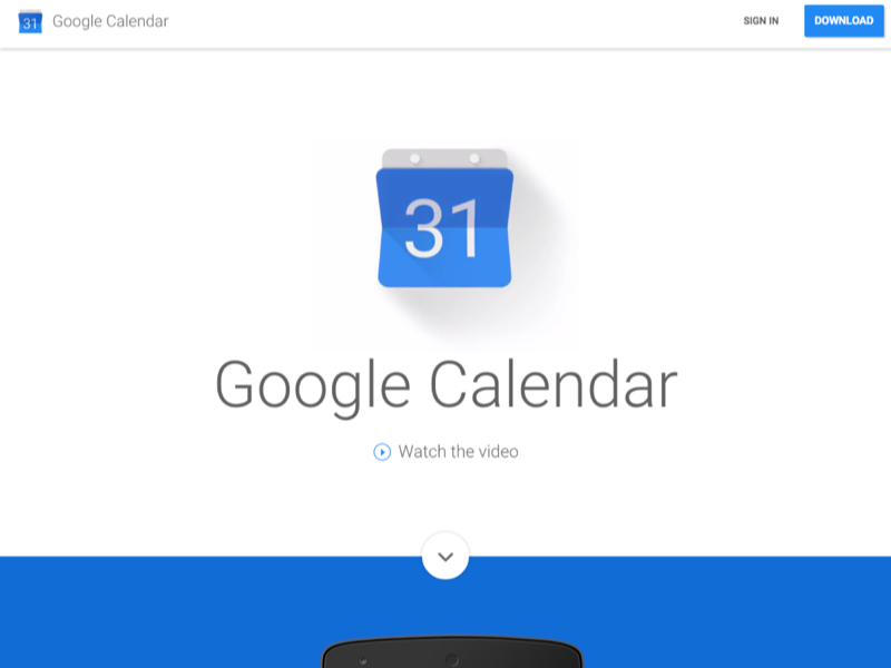 Google Calendar For Android Uplabs