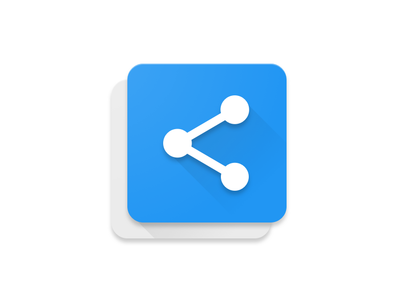 copy share android app icon uplabs