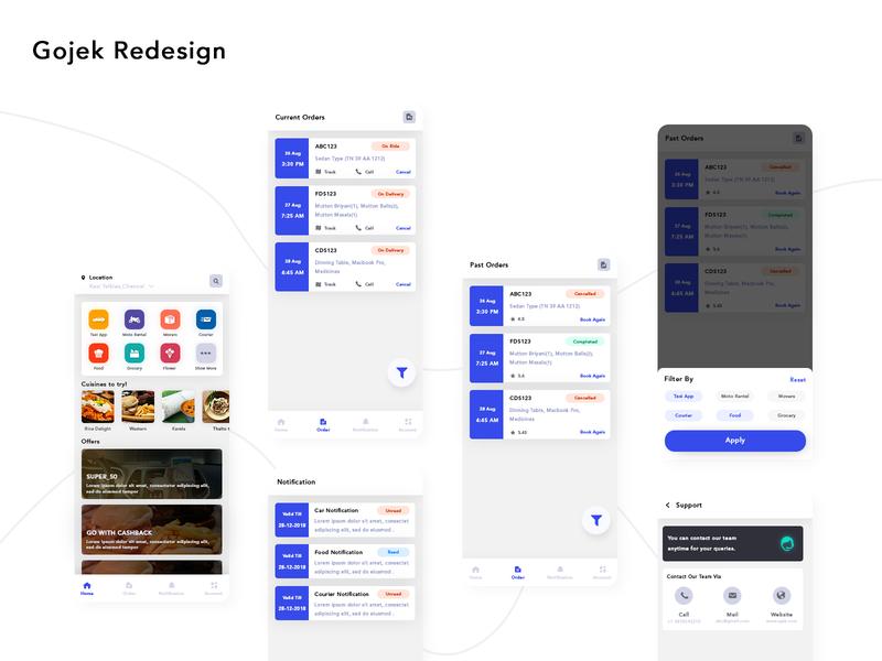 Gojek App - UpLabs