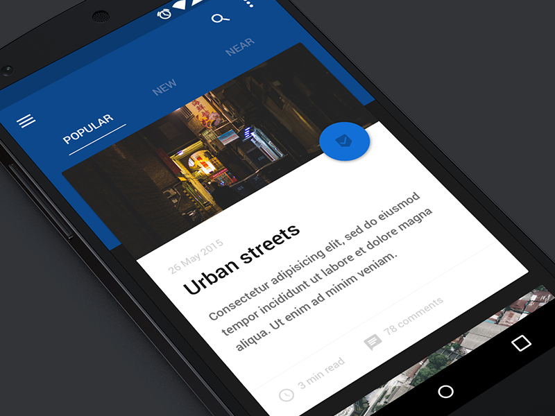 Main Screen Ui Android Uplabs
