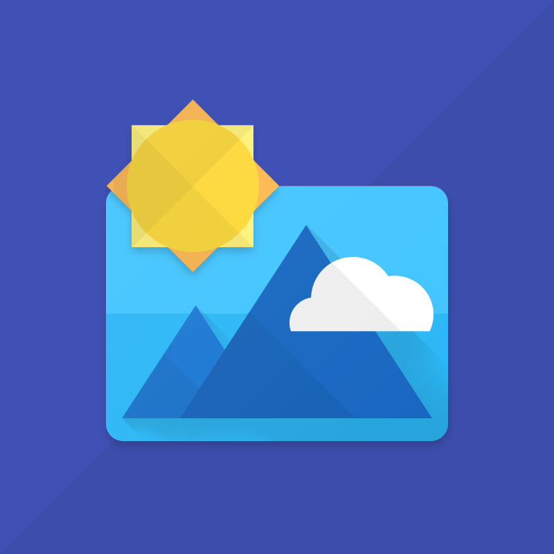 Android Gallery Material Icon Concept Materialup