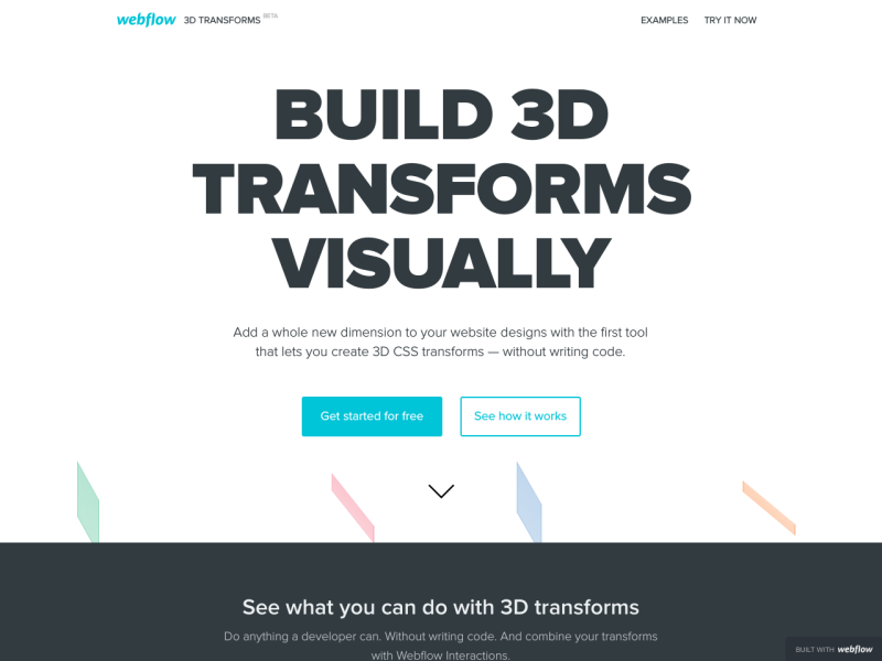 Webflow 3D Transforms - UpLabs