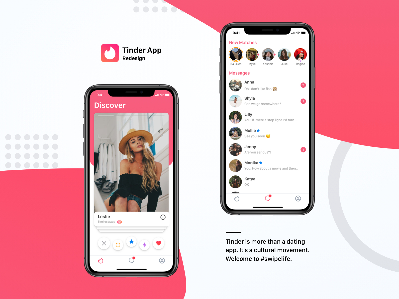 Tinder App Concept - UpLabs