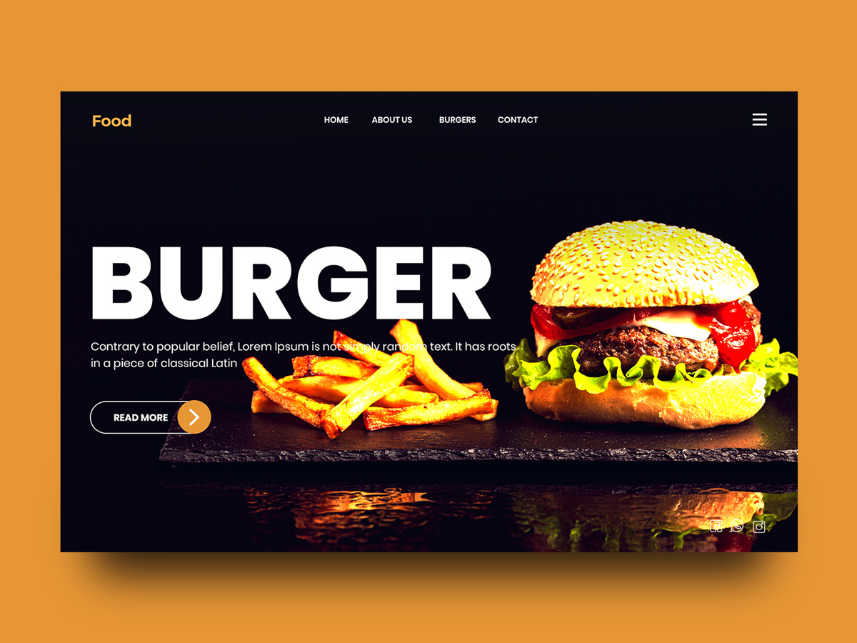 Food Delivery Web Landing Page Search By Muzli