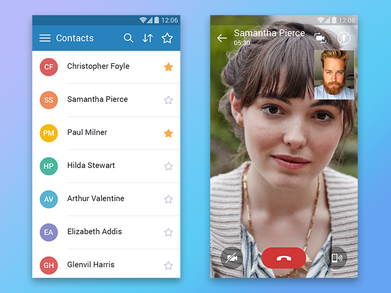 Video Call Android App - UpLabs