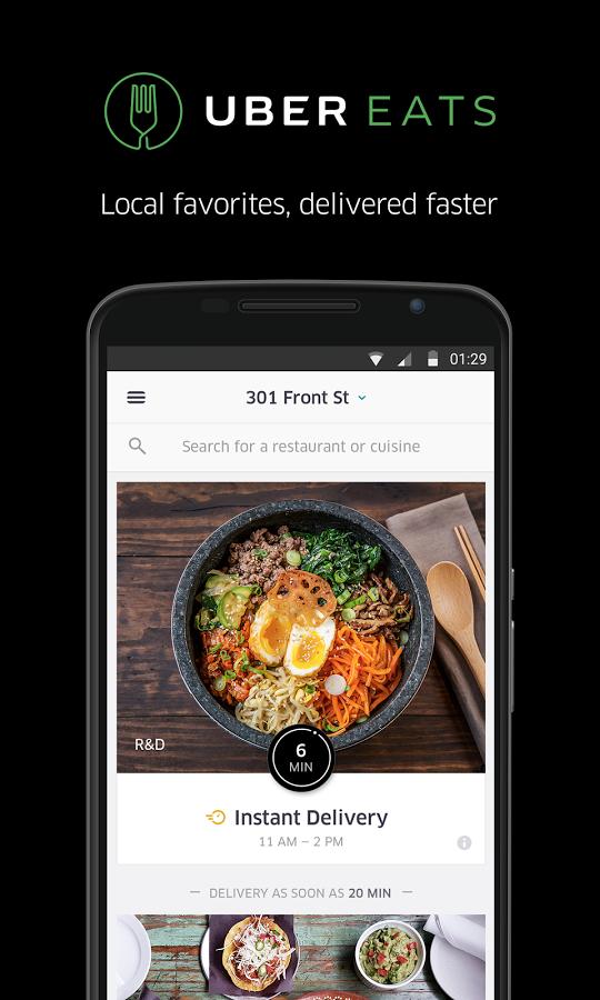 Ubereats android app materialup - Funformobile com login ...