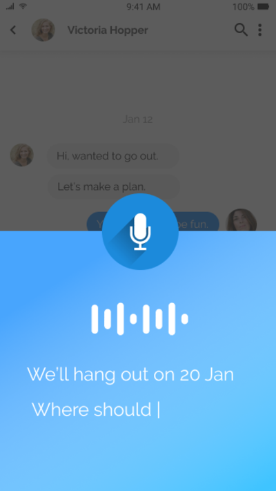 Voice Chat App - UpLabs