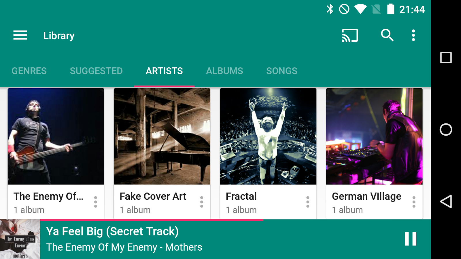 Shuttle Music Player - UpLabs