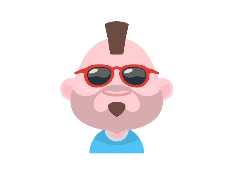 Free Set of Material Design Avatars - UpLabs