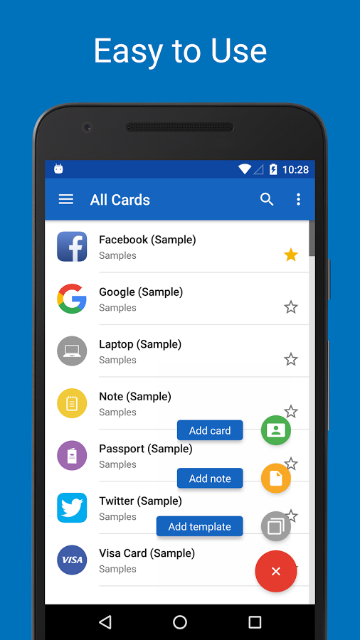 Password Manager Safeincloud Android App Uplabs