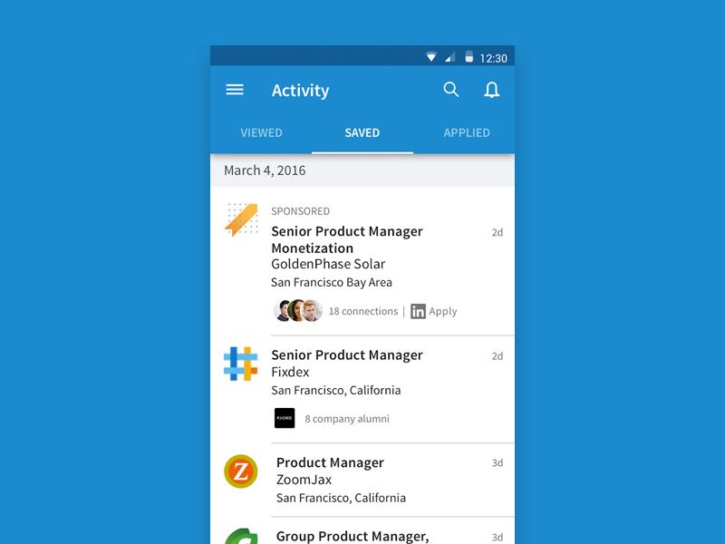 Linkedin Job Search App Uplabs