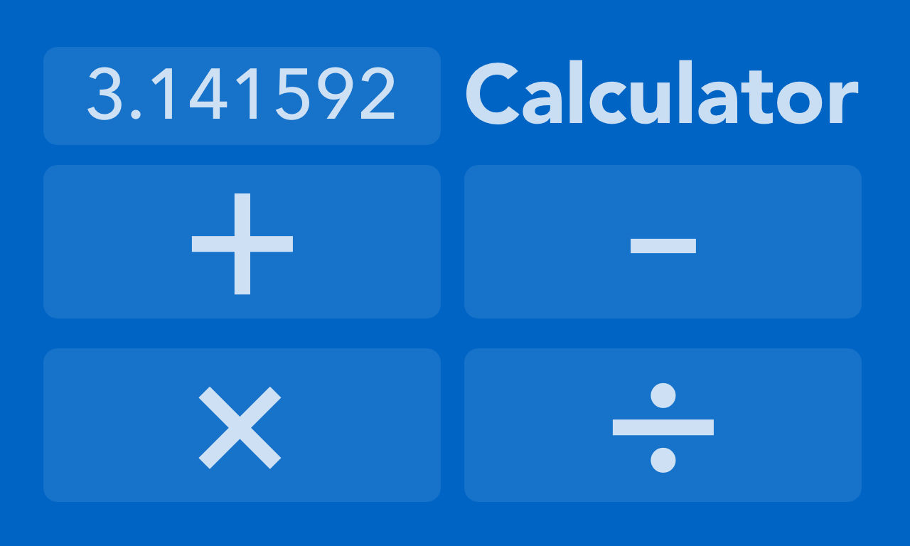 CalculatorNumber Apple TV App Icon - UpLabs