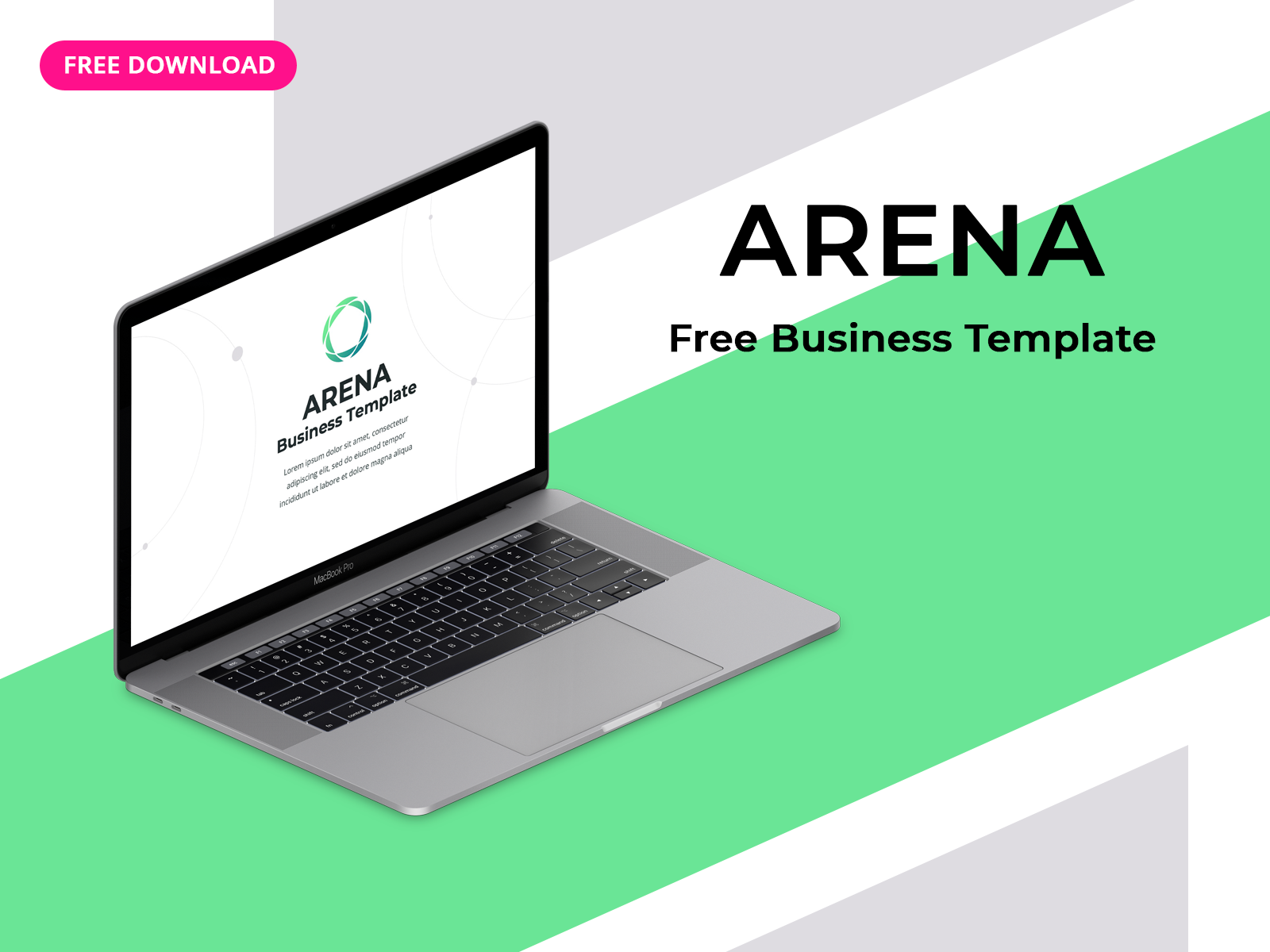 Free Business Template Arena For Powerpoint Keynote Uplabs