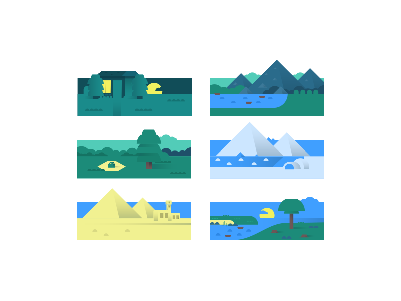 Scenery Illustrations And Wallpapers Uplabs