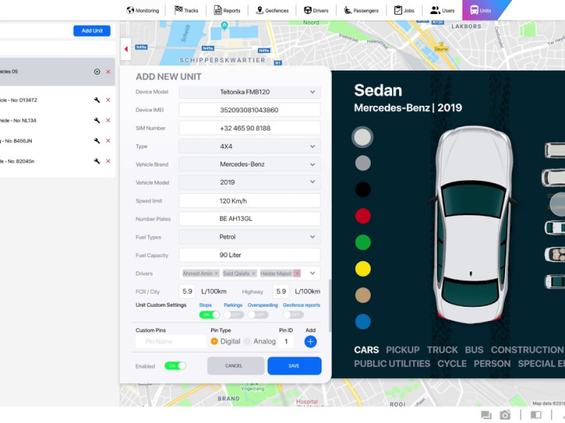 Dashboard Tracking system Design With Adobe XD | Search by Muzli